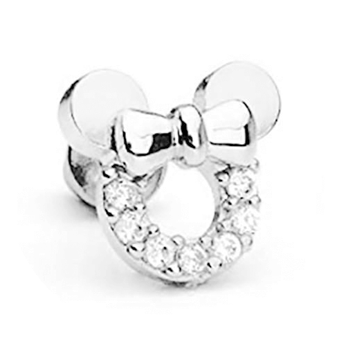pendientes-plata-para-bebes-micky-mouse